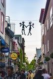 De populaire voetmanier van Quebec Royalty-vrije Stock Afbeeldingen