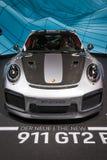 De Porsche 911 GT2 RS carro 2018 de esportes Imagens de Stock