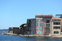de port Άγιος tropez Στοκ εικόνα με δικαίωμα ελεύθερης χρήσης