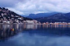 de port soller Mallorca Fotografering för Bildbyråer