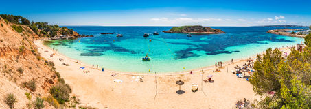 De Portalen Nous van Spanje Majorca Cala Royalty-vrije Stock Afbeelding