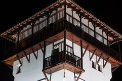 De Portalen van de torenhaven, Mallorca Stock Foto's