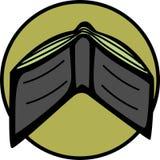 De portefeuille van het leer stock illustratie