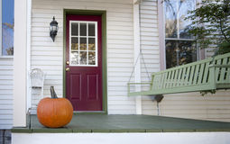 De portiek van de herfst Stock Foto's