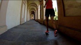De portiek van San Luca ` s het lopen