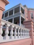 De portiekdetail van het huis Stock Foto