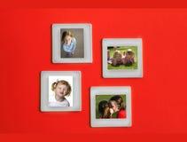 De Portretten van het Frame van de Film van de dia stock foto