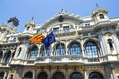 De portuario Barcelona Foto de archivo libre de regalías
