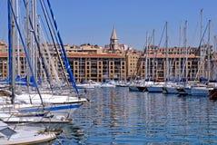 De portuario Marsella en Francia Imagenes de archivo