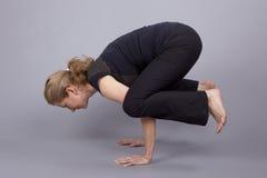 De positie van de yoga Royalty-vrije Stock Foto's