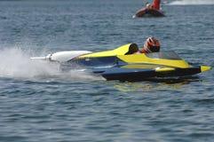 De positie van het begin bij motorboot wm royalty-vrije stock foto's