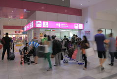 De post Kuala Lumpur van KLIA ekspres Stock Afbeeldingen