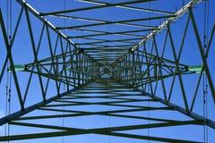 De post met hoog voltage Stock Afbeelding