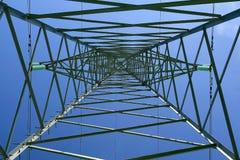 De post met hoog voltage Royalty-vrije Stock Afbeelding