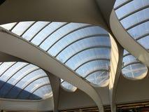 De post van BIRMINGHAM Grand Central en winkelcentrum & Nieuwe St Post stock fotografie