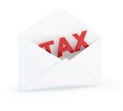 De post van de belasting stock illustratie
