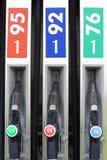 De post van de benzine royalty-vrije stock fotografie