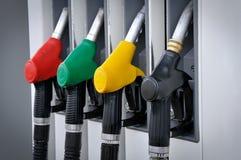 De post van de benzine Royalty-vrije Stock Afbeelding