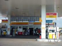 De post van de brandstof royalty-vrije stock afbeelding