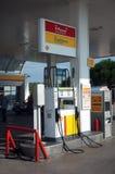 De post van de brandstof royalty-vrije stock afbeeldingen