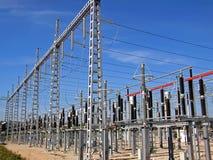 De Post van de elektriciteit Stock Afbeelding