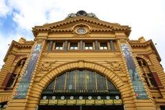 De post van de Flindersstraat in Melbourne, Australië Royalty-vrije Stock Afbeelding