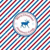 De post van de Kerstmiskerstman Royalty-vrije Stock Foto's