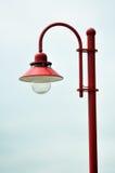 De post van de lamp Royalty-vrije Stock Fotografie