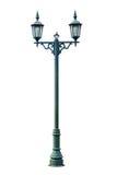De Post van de lamp royalty-vrije stock afbeeldingen