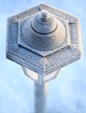 De Post van de lamp stock fotografie