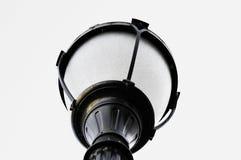 De post van de lamp Royalty-vrije Stock Foto's