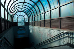 De Post van de metro Stock Afbeeldingen