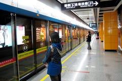 De post van de metro Stock Foto's