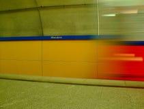 De post van de metro Stock Fotografie
