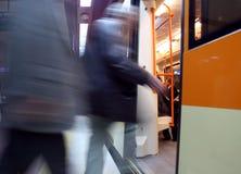 De post van de metro Royalty-vrije Stock Afbeeldingen
