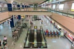 De post van de metro in guangzhou Stock Foto's