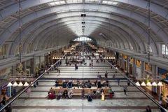 De Post van de spoorweg stock foto's