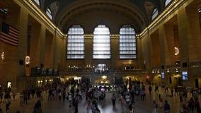 De post van de Granpost in New York stock footage