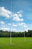 De post van het rugby royalty-vrije stock afbeelding
