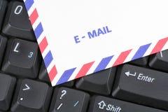 De post van het toetsenbord en van de lucht wikkelt stock foto