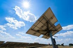 De Post van het zonnepaneel stock afbeeldingen