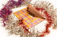 De post van Kerstmis royalty-vrije stock foto's