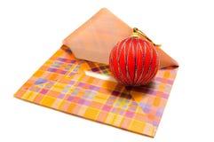 De post van Kerstmis royalty-vrije stock afbeeldingen