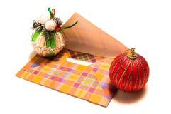 De post van Kerstmis stock fotografie