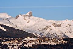 De post van Montana van Crans Royalty-vrije Stock Fotografie