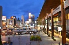 De Post van Nagano stock fotografie