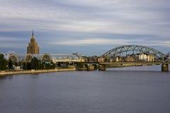 De post van oud Riga Royalty-vrije Stock Afbeelding
