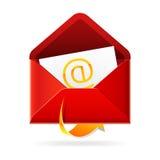 De post van Outbox. Vector pictogram. Royalty-vrije Stock Fotografie