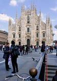 De post van portagenua van Milaan Italië Royalty-vrije Stock Afbeelding