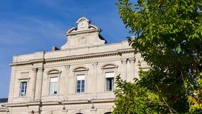 De post van Reims in Frankrijk stock footage
